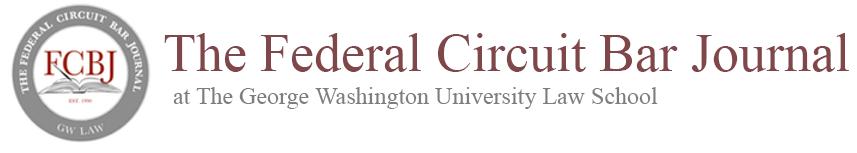 The Federal Circuit Bar Journal