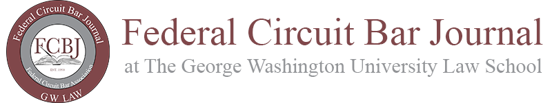 Federal Circuit Bar Journal